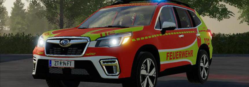 Subaru Forester Fire Brigade KdoW Skin v1.1