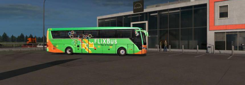 Temsa Safir Plus Flix bus v2.0