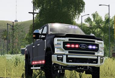 2020 Ford F-Series Slick Top Ghost v1.0