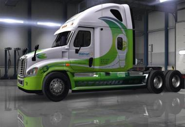 50 Skins Pack For Freightliner Cascadia Ats 1.37.x
