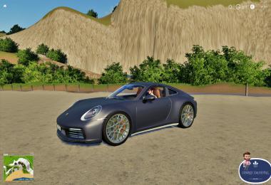 Porsche Carrera 4S Fs19 v1.0