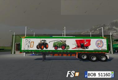 Trailer Dump Capacity 200000L By BOB51160 v1.0