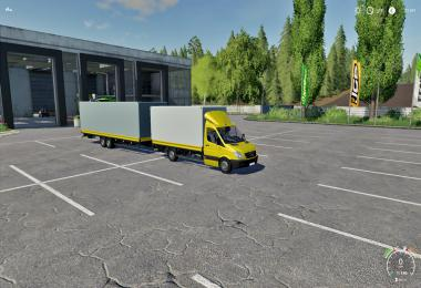 Mercedes Trailer FS19 v1.1