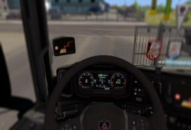 Afterhours FM Dashboard Radio Station on 2016 Scania v1.0