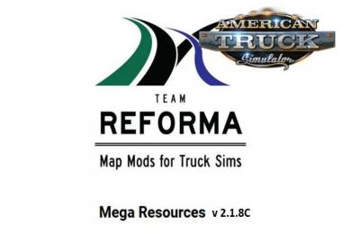 [ATS] Mega Resources Mod v2.1.8C 1.37.x