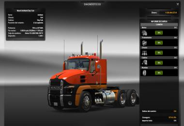 Chassis + Engine for New SCS Mack Anthem 1.37.x