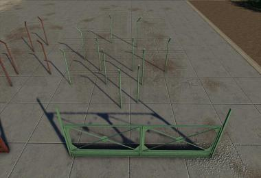 Concrete And Metal Fences Pack v1.0.0.0