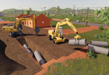 Dynamic Concrete Pipes Pack v1.0