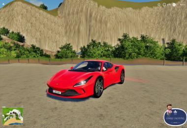 Ferrari F8 Tributo Fs19 v1.0
