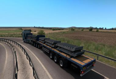 Freight Market Flatbed Doubles v1.0