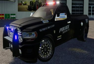 FS19 Dodge Hell Truck Police Edition v1.0