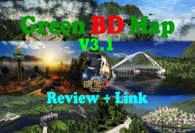 Green BD Map v3.1 1.31-1.35
