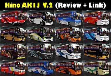Hino AK1J v2.0 Final Update ETS2 1.36.x