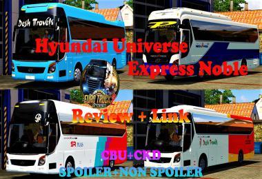 Hyundai Universe Express Noble 1.31 - 1.35