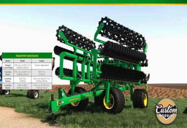 John Deere high speed disk v1.0.0.0