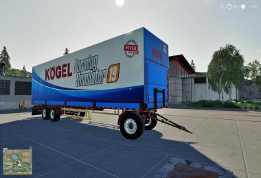 Kogel Autoloader Trailer 15m FS19 v1.0