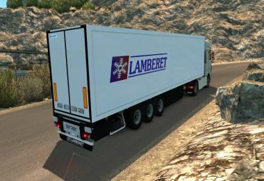 Lamberet Trailer by Donovan 1.36