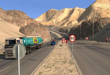 MAPA EEA v5.4 Save Game Profile ETS2 1.36