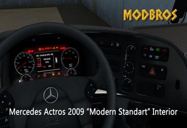 Mercedes 2009 Modern Interior (MODBROS) 1.36.x