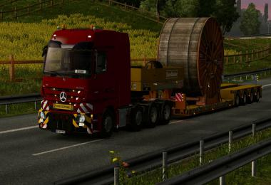 MERCEDES ACTROS MP3 v3.1