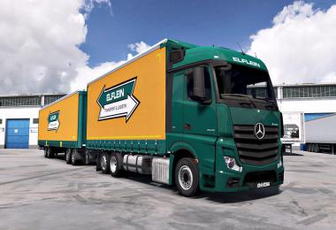 Mercedes Actros MP4 edit by Alex v1.5 1.36