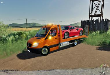 Mercedes Sprinter Transporter FS19 v1.0
