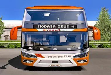 Modasa Zeus 4 6x2/8x2 Man for ETS2 & ATS 1.36
