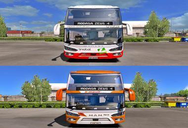 Modasa Zeus 4 Pack (Scania/Man) ETS2 1.36.x