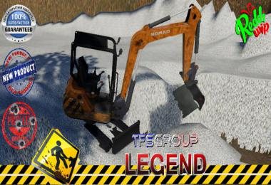 NOMAD MINI EXCAVATOR CURAGE v2.0