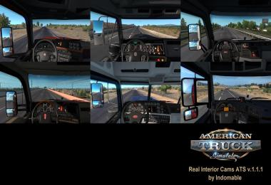 Real Interior Cams ATS v1.1.1