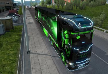 Scania AlienWare pack 1.36
