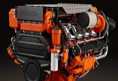 Scania V8 Marine Engines 1.36