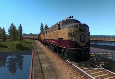 Short Trains add-on for American Improved Trains in ETS2 v3.3