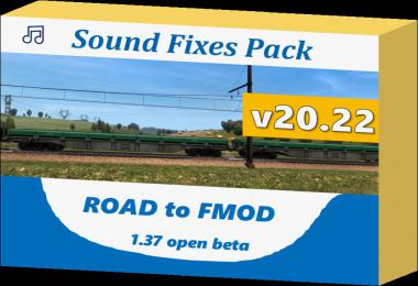 Sound Fixes Pack v20.22 1.37 only