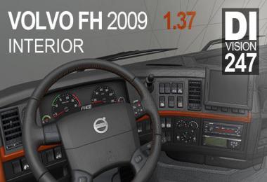 Volvo FH 2009 interior 12.04.20 1.37.x