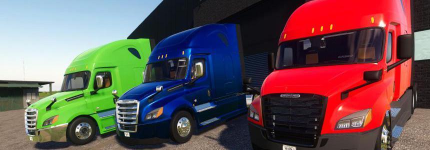2018-2021 Freightliner Cascadia P4 v1.0