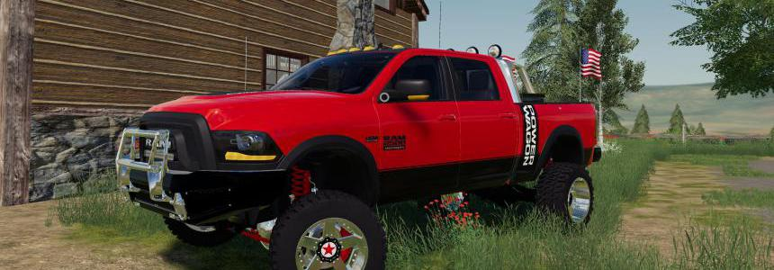 FS19 DODGE Power Wagon v1.0