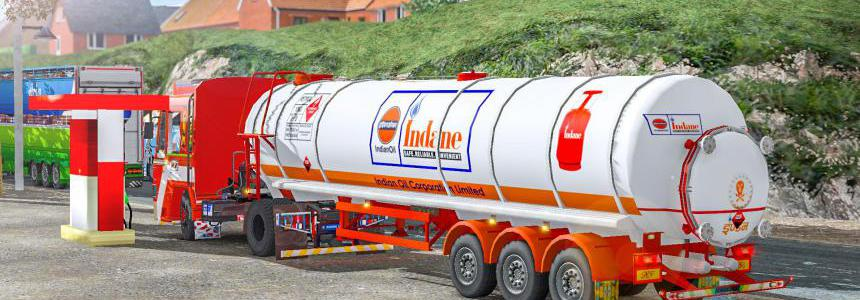 Indian Oil Tanker Trailer 1.37