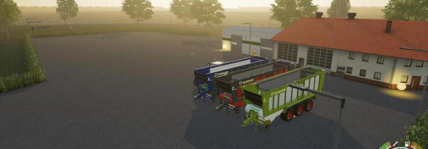 Krone Ladewagen ( bulk ) v1.0