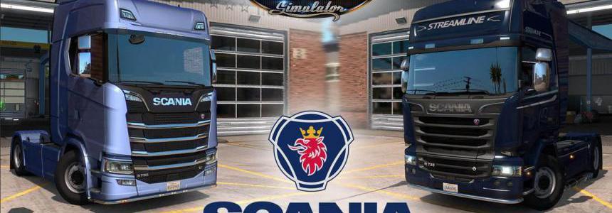 SCANIA Trucks Mod – by Frkn64 v3.1