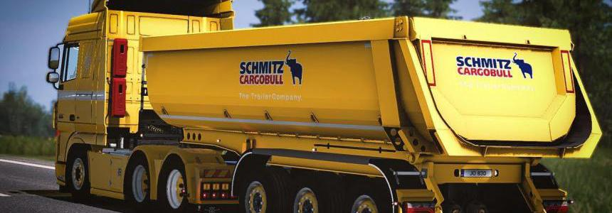 Schmitz Cargobull Tipper Trailer 1.37