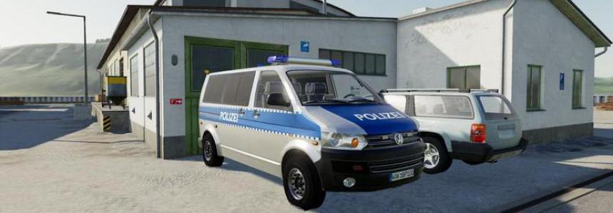 VW T5 police and customs with Universal Passenger v2.0