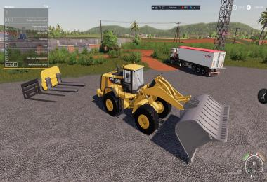 Coal Shovel For 980K Cat Loader v1.0