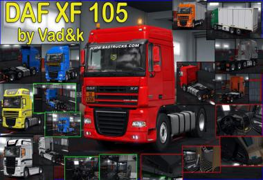 DAF XF 105 by vad&k v7.0 1.37.x