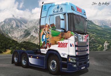 Asterix NG Scania Skin v1.0