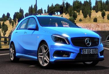 [ATS] Mercedes Benz A45 v1.2 1.37.x
