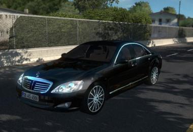 [ATS] Mercedes Benz S350 2009 v2.0 1.37.x