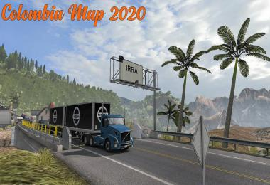 [ATS] New Colombia Map Mod 2020 1.36 - 1.37