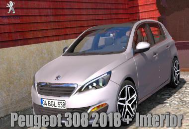[ATS] Peugeot 308 v1.3 1.37.x