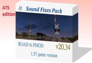 [ATS] Sound Fixes Pack v20.34 1.37.x